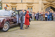 Oxford, GREAT BRITAIN., Reception party, Royal visit to Magdalen College, by Her Majesty the Queen, Royal Highness the Duke of Edinburgh, Thursday 27/11/2008, [Mandatory Credit Peter Spurrier]