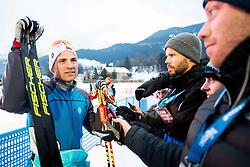January 6, 2018 - Val Di Fiemme, ITALY - 180106 Niklas Dyrhaug of Norway after men's 15km mass start classic technique during Tour de Ski on January 6, 2018 in Val di Fiemme..Photo: Jon Olav Nesvold / BILDBYRN / kod JE / 160123 (Credit Image: © Jon Olav Nesvold/Bildbyran via ZUMA Wire)