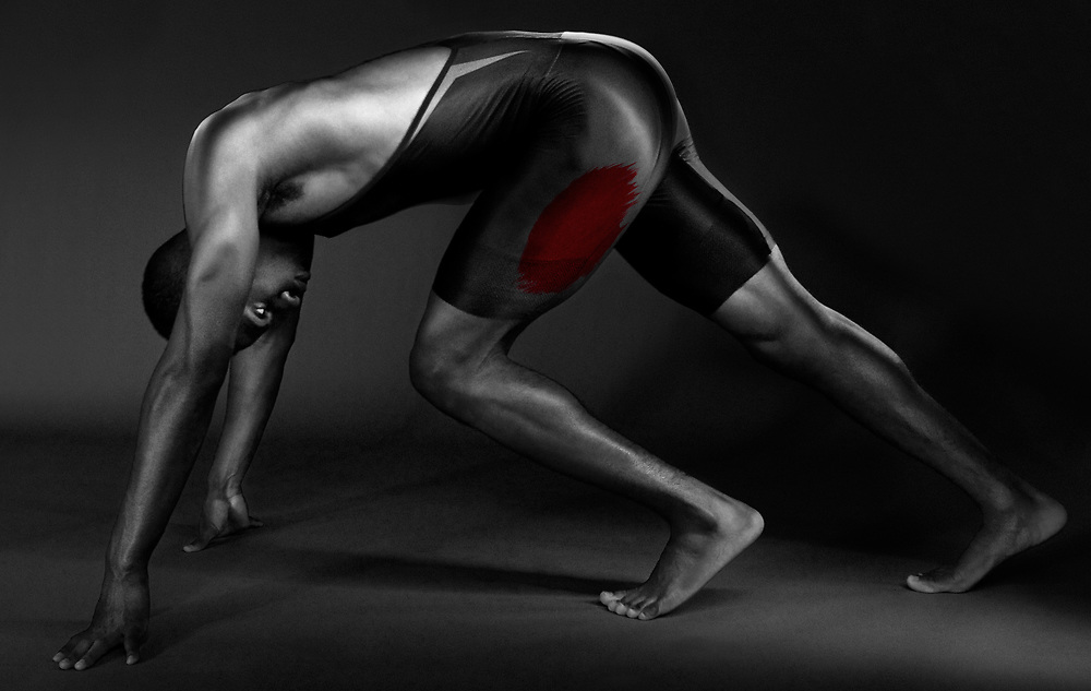 ANATOMIC Series<br /> Focus on specific muscle groups related to the athlete's sport.<br /> Featuring Olympic athlete: Lex Gillette.<br /> ©justinalexanderbartels.com
