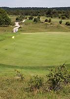 ZANDVOORT - Hole 3. Hoge green , lage tee. Kennemer Golf Club. COPYRIGHT KOEN SUYK Copyright Koen Suyk