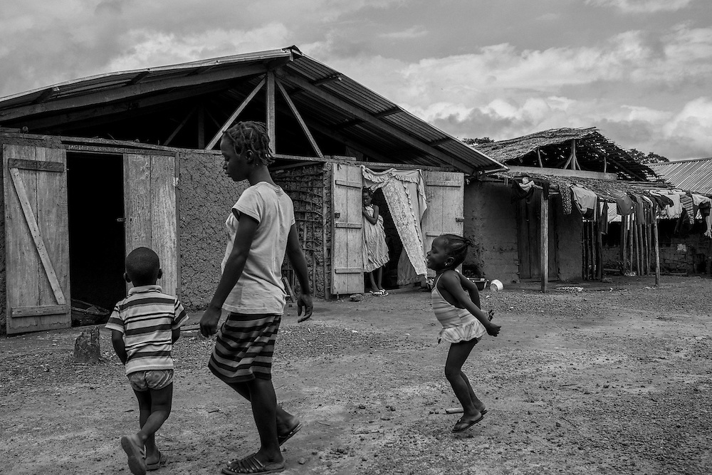 John Logan Town, has a population of about 20,000 people. Liberia.