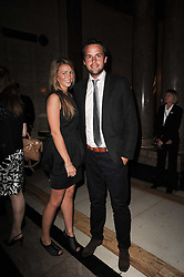 CHARLIE GILKES and ANNEKE VON TROTHA TAYLOR at The inaugural Quintessentially Awards held at the Freemason's Hall, Covent Garden, London on 1st June 2010.