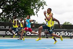 adidas Grand Prix professional track & field meet: mens 200 meters, Warren Weir, Jamaica