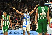DESCRIZIONE : Campionato 2014/15 Dinamo Banco di Sardegna Sassari - Sidigas Scandone Avellino<br /> GIOCATORE : Shane Lawal<br /> CATEGORIA : Esultanza Mani<br /> SQUADRA : Dinamo Banco di Sardegna Sassari<br /> EVENTO : LegaBasket Serie A Beko 2014/2015<br /> GARA : Dinamo Banco di Sardegna Sassari - Sidigas Scandone Avellino<br /> DATA : 24/11/2014<br /> SPORT : Pallacanestro <br /> AUTORE : Agenzia Ciamillo-Castoria / M.Turrini<br /> Galleria : LegaBasket Serie A Beko 2014/2015<br /> Fotonotizia : Campionato 2014/15 Dinamo Banco di Sardegna Sassari - Sidigas Scandone Avellino<br /> Predefinita :