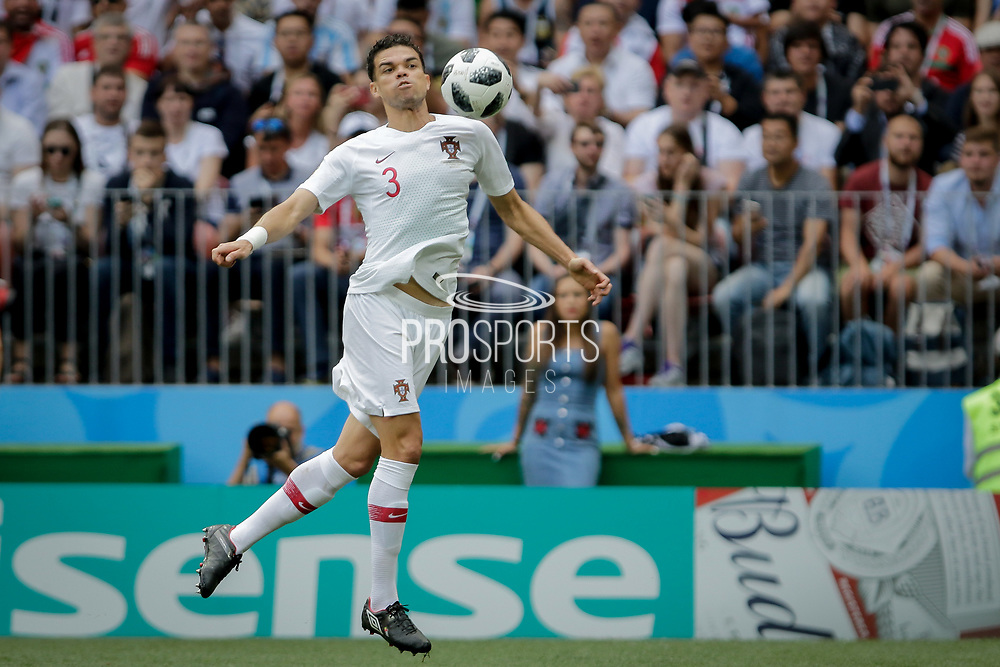 Pepe of Portugal during the 2018 FIFA World Cup Russia, Group B football match between Portugal and Morocco on June 20, 2018 at Luzhniki stadium in Moscow, Russia - Photo Thiago Bernardes / FramePhoto / ProSportsImages / DPPI