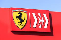 February 18, 2019 - Barcelona, Barcelona, Spain - Scuderia Ferrari Mission Winnow SF90 logo  during the Formula 1 2019 Pre-Season Tests at Circuit de Barcelona - Catalunya in Montmelo, Spain on February 18. (Credit Image: © Xavier Bonilla/NurPhoto via ZUMA Press)