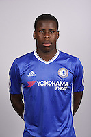 COBHAM, ENGLAND - AUGUST 11: Kurt Zouma of Chelsea during the Official Portrait session at Chelsea Training Ground on August 11, 2016 in Cobham, England. (Photo by Darren Walsh/Chelsea FC via Getty Images)
