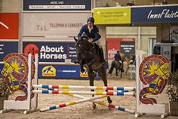 Vrins Nick, BEL, Radetzky van't Heike<br /> Pavo Hengsten competitie - Oudsbergen 2021<br /> © Hippo Foto - Dirk Caremans<br />  22/02/2021