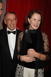 The French ambassador to the UK GERARD ERRERA & MRS ERRERA  at a dinner held at the Natural History Museum to celebrate the re-opening of their store at 175-177 New Bond Street, London on 17th October 2007.<br /><br />NON EXCLUSIVE - WORLD RIGHTS