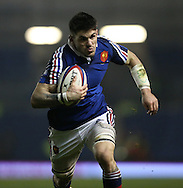 Lucas Bachelier (captain) during the 2015 Under 20s 6 Nations match between England and France at the American Express Community Stadium, Brighton and Hove, England on 20 March 2015.