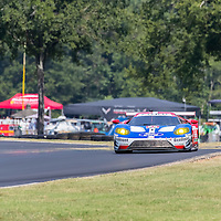 Alton, VA - Aug 26, 2016:  The Chip Ganassi Racing Ford GT races through the turns at the Michelin GT Challenge at VIR at Virginia International Raceway in Alton, VA.