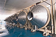 Roto-fermenters. Tsantali Vineyards & Winery, Halkidiki, Macedonia, Greece.