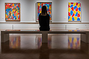 Painting with two Balls 1960, False Start 1959 and Nines 2006 - Jasper Johns: 'Something Resembling Truth' at the Royal Academy of Arts. The exhibition spans over 60 years from his early career, up to the present and includes over 150 works. The show runs at the RA from 23 September – 10 December 2017.