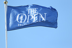 Flags fly with The Open branding during day one of The Open Championship 2017 at Royal Birkdale Golf Club, Southport. PRESS ASSOCIATION Photo. Picture date: Thursday July 20, 2017. See PA story GOLF Open. Photo credit should read: Richard Sellers/PA Wire. RESTRICTIONS: Editorial use only. No commercial use. Still image use only. The Open Championship logo and clear link to The Open website (TheOpen.com) to be included on website publishing. Call +44 (0)1158 447447 for further information.