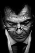 Stefano Fassina, economista e politico italiano, è membro della segreteria nazionale del Partito Democratico come responsabile del settore economia e lavoro. Roma, 11 luglio 2013. Christian Mantuano / OneShot<br /> <br /> Stefano Fassina, economista e politico italiano, è membro della segreteria nazionale del Partito Democratico come responsabile del settore economia e lavoro. Roma, 11 luglio 2013. Christian Mantuano / OneShot<br /> <br /> Stefano Fassina, Italian economist and politician, member of the national secretariat of the Democratic Party as head of economy and labor. Rome, 11 July 2013. Christian Mantuano / OneShot
