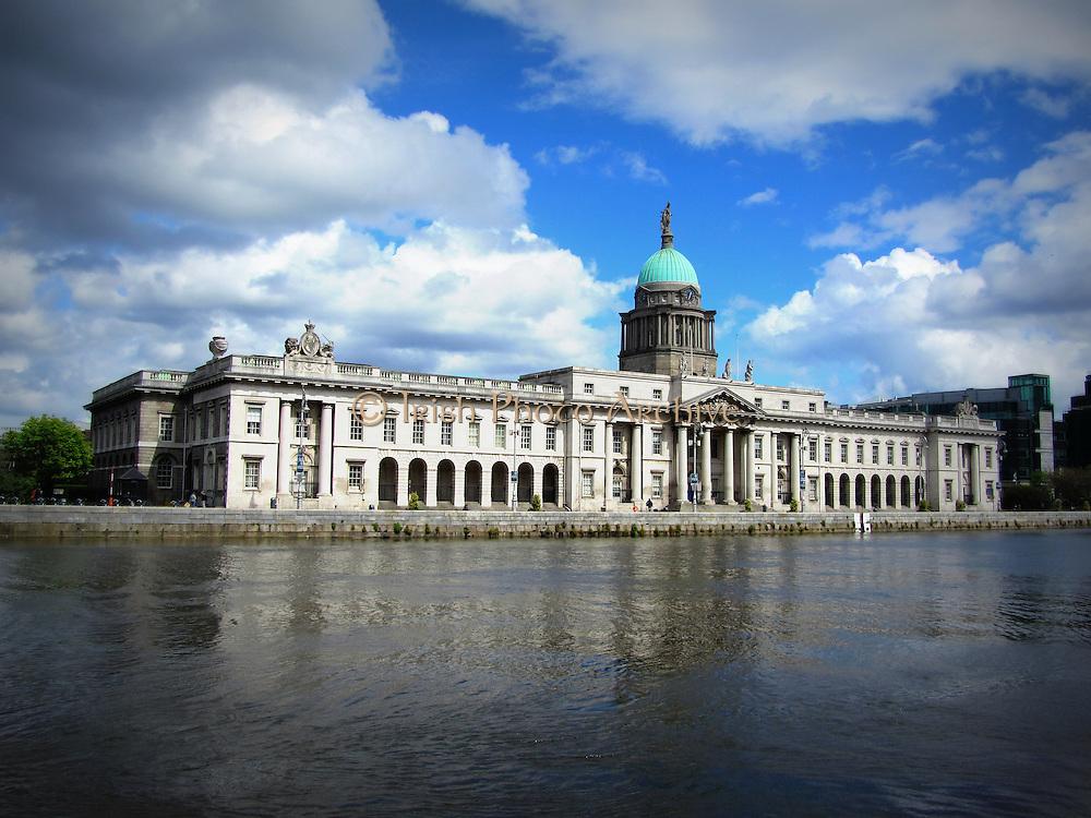 Custom House, Custom Quay, Dublin, Ireland, 1791