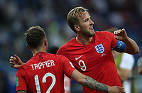 Football - 2018 FIFA World Cup - Group G: England vs. Tunisia<br /> <br /> Harry Kane of England is seen at full time at Volgograd Arena, Volgograd.<br /> <br /> COLORSPORT/IAN MACNICOL