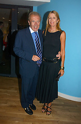 SIR DAVID & LADY CARINA FROST at a party to celebrate the publication of Glass Houses by Sandra Howard held at Tamesa, Oxo Tower Wharf, Barge House Street, London SE1 on 5th September 2006.<br /><br />NON EXCLUSIVE - WORLD RIGHTS
