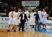 DESCRIZIONE : Verona Campionato Lega Basket A2 2011-12 Tezenis Verona Pallacanestro S.Antimo<br /> GIOCATORE : Esultanza Tezenis Verona <br /> SQUADRA : Tezenis Verona<br /> EVENTO : Campionato Lega Basket A2 2011-2012<br /> GARA : Tezenis Verona Pallacanestro S.Antimo<br /> DATA : 06/11/2011<br /> CATEGORIA : Esultanza<br /> SPORT : Pallacanestro <br /> AUTORE : Agenzia Ciamillo-Castoria/L.Lussoso<br /> Galleria : Lega Basket A2 2011-2012 <br /> Fotonotizia : Verona Campionato Lega Basket A2 2011-12 Tezenis Verona Pallacanestro S.Antimo<br /> Predefinita :