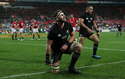 New Zealand's Kieran Read during the second test of the 2017 British and Irish Lions tour at Westpac Stadium, Wellington.