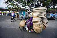 """Baskets, Hue, Vietnam<br /> Available as Fine Art Print in the following sizes:<br /> 08""""x12""""US$   100.00<br /> 10""""x15""""US$ 150.00<br /> 12""""x18""""US$ 200.00<br /> 16""""x24""""US$ 300.00<br /> 20""""x30""""US$ 500.00"""