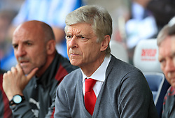 Arsenal manager Arsene Wenger during the Premier League match at the John Smith's Stadium, Huddersfield.