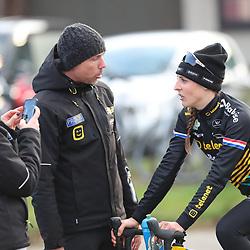 26-01-2020: Wielrennen: Wereldbeker Veldrijden: Hoogerheide<br />Lucinda Brand, Sven Nys