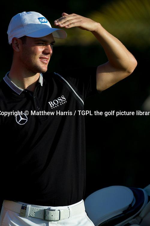 Martin KAYMER (GER) HSBC Abu Dhabi Championship 2014,Abu Dhabi Golf Club,Abu Dhabi,UAE.