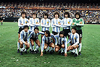 TEAM GROUP<br />ARGENTINA WORLD CUP 1978 <br />ARGENTINA V HOLLAND (3-1) 25/06/1978 FINAL<br />WORLD CUP 1978<br />PHOTO ROGER PARKER FOTOSPORTS INTERNATIONAL