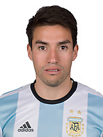 Conmebol - World Cup Fifa Russia 2018 Qualifier / <br /> Argentina National Team - Preview Set - <br /> Nicolas Gaitan