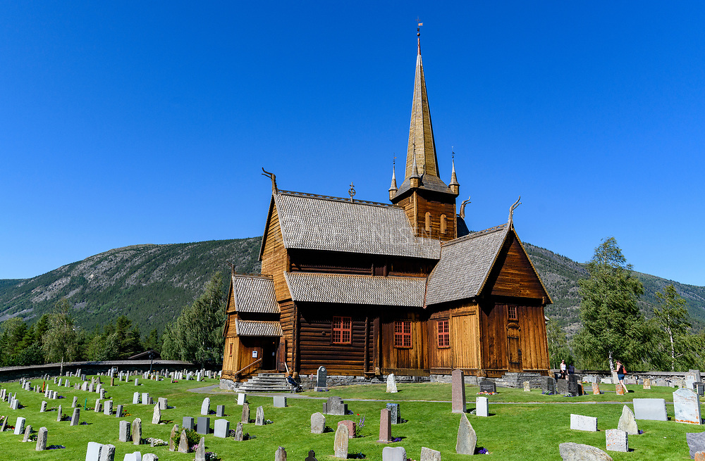 Lom stave church dates back to the second half of the 12th century, situated in Lom municipancy, Gudbrandsdalen, Norway.