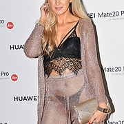 Victoria Brown attend Huawei - VIP celebration at One Marylebone London, UK. 16 October 2018.