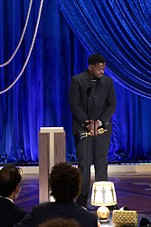 Daniel Kaluuya accepts the Oscar® for Best Actor in a Supprting Role during the live ABC Telecast of The 93rd Oscars® at Union Station in Los Angeles, CA, USA on Sunday, April 25, 2021. Photo by Todd Wawrychuk/A.M.P.A.S. via ABACAPRESS.COM.