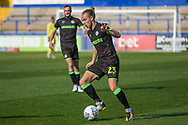 Forest Green Rovers Joseph Mills(23) during the EFL Sky Bet League 2 match between Macclesfield Town and Forest Green Rovers at Moss Rose, Macclesfield, United Kingdom on 29 September 2018.