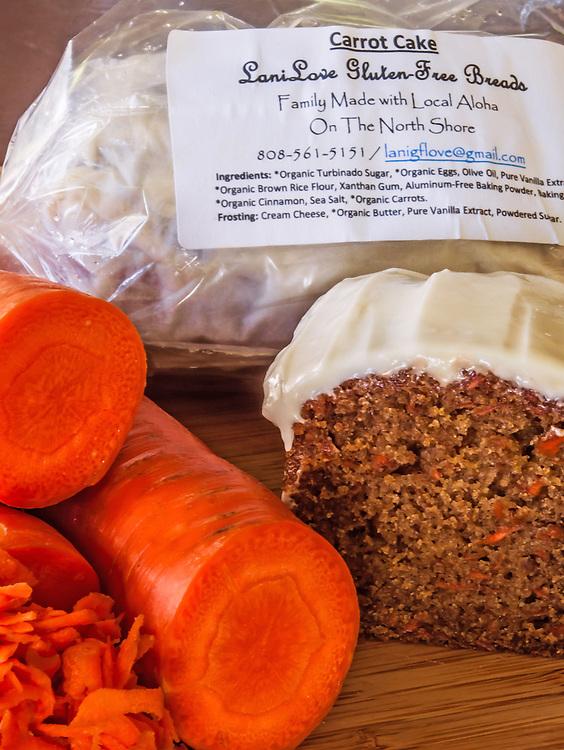 Carrot Cake Loaf Lani Love Packaging