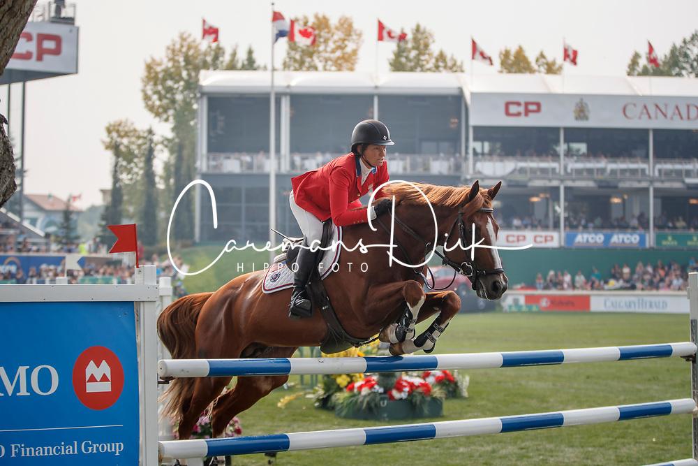 Madden Beezie, USA, Darry Lou<br /> Spruce Meadows Masters - Calgary 2017<br /> © Hippo Foto - Dirk Caremans<br /> 09/09/2017,