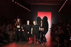 Paris Hilton on the runway at the Namilia S/S 2019 runway New York Fashion Week - 12 Sept 2018