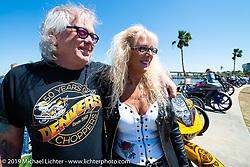 Perewitz Paint Show on Beach Street during Daytona Bike Week. Daytona Beach, FL. USA. Wednesday March 14, 2018. Photography ©2018 Michael Lichter.