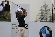 Alexander Levy (FRA) tees off the 2nd tee during Saturay's Round 3 of the 2014 BMW Masters held at Lake Malaren, Shanghai, China. 1st November 2014.<br /> Picture: Eoin Clarke www.golffile.ie