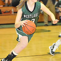 12.08.2010 Westlake at Amherst Girls Varsity Basketball