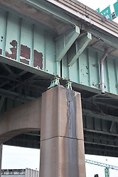 Pearl Harbor Memorial Bridge Project 18 December 2008. Condition of the Old Q Bridge