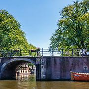 NLD/Amsterdam/20180628 - Rondvaart Amsterdam, brug