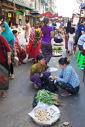 Street Vendor Near Gyee Zai Market