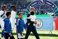 Brighton & Hove Albion manager Chris Hughton during the lap of appreciation at the end of the match