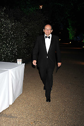 MICHAEL SPENCER at the Royal Parks Foundation Summer Party hosted by Candy & Candy on the banks of the Serpentine, Hyde Park, London on 10th September 2008.