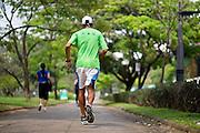 Belo Horizonte_MG, Brasil.<br /> <br /> Homem caminhando na praca da Liberdade em Belo Horizonte, Minas Gerais.<br /> <br /> A man walking in Liberdade square in Belo Horizonte, Minas Gerais.<br />  <br /> Foto: RODRIGO LIMA  / NITRO