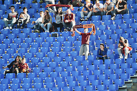 Sciopero Tifosi Roma Curva Sud Vuoda. Rome Supporters strike <br /> Roma 08-11-2015 Stadio Olimpico Football Calcio Serie A 2015/2016 AS Roma - Lazio Foto Andrea Staccioli / Insidefoto