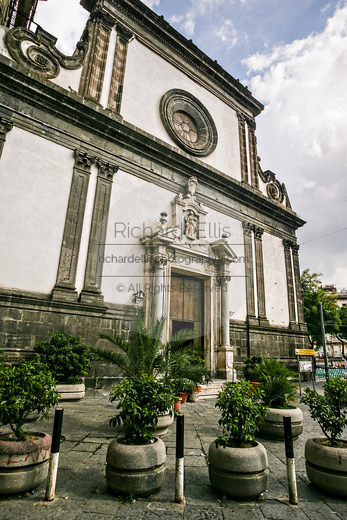 Santa Caterina a Formiello a church in Naples, southern Italy. Construction of the church began about 1510, designed by the Florentine Antonio della Cava, and completed in 1593.