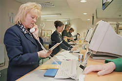 Receptionists at Outpatients department,