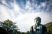 KAMAKURA, JAPAN daibutsu - The great buddha of Kamakura under a endding afternoo's light - July 2011 [FR] Le grand bouddha de Kamakura dans une lumiere de fin d'apres-midi
